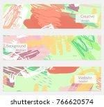 hand drawn creative universal...   Shutterstock .eps vector #766620574