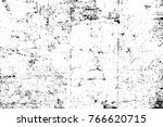 grunge black and white pattern. ... | Shutterstock . vector #766620715