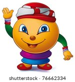 cute arab mascot | Shutterstock .eps vector #76662334
