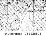 grunge black and white pattern. ... | Shutterstock . vector #766625575