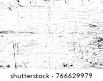 grunge black and white pattern. ... | Shutterstock . vector #766629979