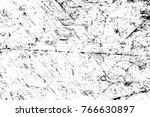 grunge black and white pattern. ... | Shutterstock . vector #766630897