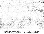 grunge black and white pattern. ... | Shutterstock . vector #766632835