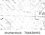 grunge black and white pattern. ... | Shutterstock . vector #766636441