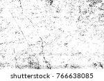 grunge black and white pattern. ...   Shutterstock . vector #766638085