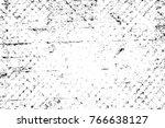 grunge black and white pattern. ... | Shutterstock . vector #766638127