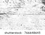 grunge black and white pattern. ... | Shutterstock . vector #766648645