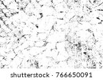 grunge black and white pattern. ... | Shutterstock . vector #766650091