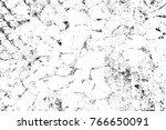 grunge black and white pattern. ... | Shutterstock . vector #766650091