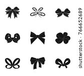 bow  ribbon  decoration  and...   Shutterstock .eps vector #766652689