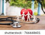 health  insurance  aid. | Shutterstock . vector #766668601