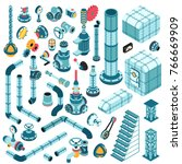 spare parts for creating... | Shutterstock .eps vector #766669909
