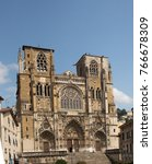 Small photo of Vienne Cathedral is a medieval Roman Catholic church in the city of Vienne, France. Dedicated to Saint Maurice