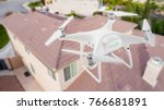 unmanned aircraft system  uav ... | Shutterstock . vector #766681891