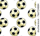 seamless pattern soccer ball...