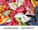 macaroni background. beautiful... | Shutterstock . vector #766730371