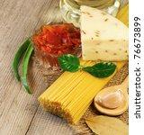 pasta | Shutterstock . vector #76673899