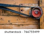 Old Pulley In An Old...