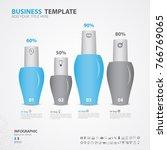 infographics elements diagram... | Shutterstock .eps vector #766769065