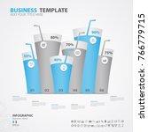 infographics elements diagram... | Shutterstock .eps vector #766779715
