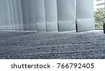 vertical fabric blinds isolated ... | Shutterstock . vector #766792405