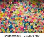new york usa november 2016 ... | Shutterstock . vector #766801789