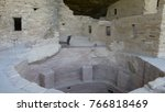 ancient cliff dwellings at mesa ... | Shutterstock . vector #766818469