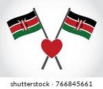 kenya emblem favorite   Shutterstock .eps vector #766845661