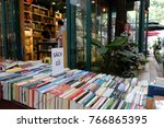 ho chi minh city  viet nam  dec ... | Shutterstock . vector #766865395