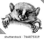 black and white engrave...   Shutterstock .eps vector #766875319