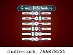 world cup russia 2018. match... | Shutterstock .eps vector #766878235