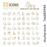 vector graphic set. icons in...   Shutterstock .eps vector #766885984