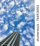 skyscraper buildings and sky... | Shutterstock . vector #766918501