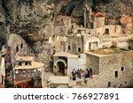 sumela monastery   turkey  ... | Shutterstock . vector #766927891