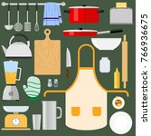 kitchen utensils and items for...