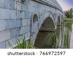 Chinese Marble Bridge Temples...