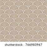 sea shell circles seamless... | Shutterstock .eps vector #766983967