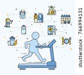 vector illustration concept of... | Shutterstock .eps vector #766994131