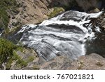 Gibbon Falls At Yellowstone...