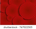 lucky dog   chinese new year... | Shutterstock .eps vector #767022505