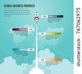 vector illustration of global... | Shutterstock .eps vector #767062975