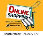 special offer sale | Shutterstock .eps vector #767077777