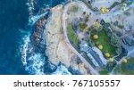 aerial of beach in san diego ...   Shutterstock . vector #767105557
