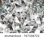 Diamond Texture Closeup And...