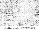 grunge black and white pattern. ... | Shutterstock . vector #767128579