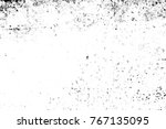 grunge black and white pattern. ... | Shutterstock . vector #767135095