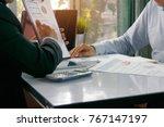 marketing concept analysis  ... | Shutterstock . vector #767147197