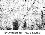 grunge black and white pattern. ... | Shutterstock . vector #767152261