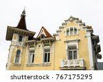 dome of an old building in... | Shutterstock . vector #767175295