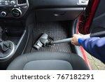 close up of handyman's hand... | Shutterstock . vector #767182291